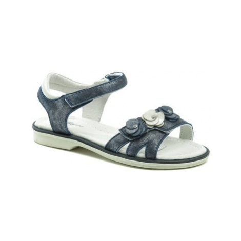 Wojtylko 5S2420 modré dívčí sandálky Modrá