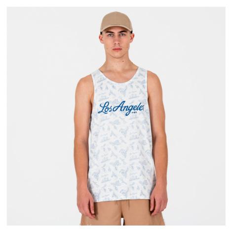Pánské tričko bez rukávů New Era Tank Top MLB Los Angels Dodgers