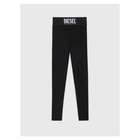 Legíny Diesel Uflb-Faustin-Lp Trousers - Černá