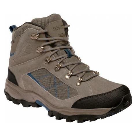 Pánské vysoké trekové boty REGATTA RMF485 Clydebank Béžové