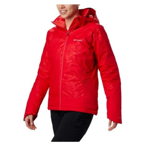 Columbia VELOCA VIXEN JACKET červená - Dámská zimní bunda