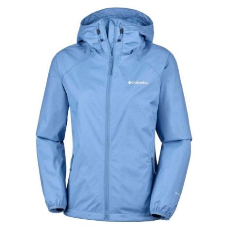 Columbia ULICA JACKET modrá - Dámská nepromokavá bunda