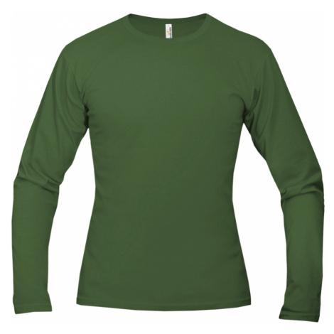 Tričko pánské AF long dlouhé - Džungle Zelená