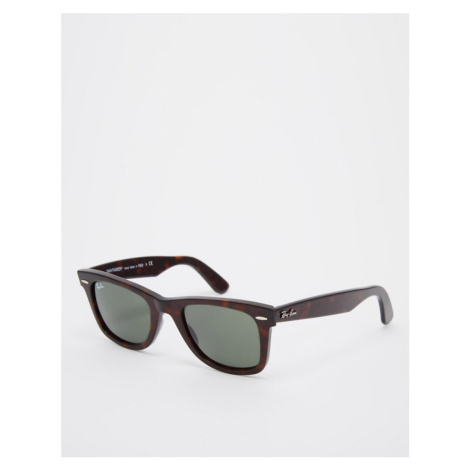 Ray-Ban 0RB2140 Original Wayfarer classic sunglasses-Brown