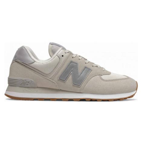New Balance ML574SPS béžová - Pánská volnočasová obuv