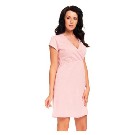 Kojicí noční košile Monita růžová
