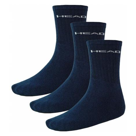 3PACK ponožky HEAD navy (751004001 321) L