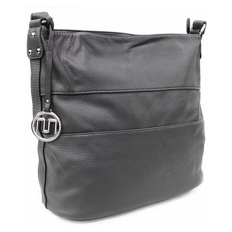 Tmavě šedá velká dámská kabelka Orlenda Mahel