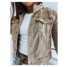 Women's denim jacket BUENOS beige TY1249z