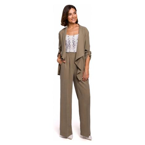 Stylove Woman's Jacket S202 Khaki
