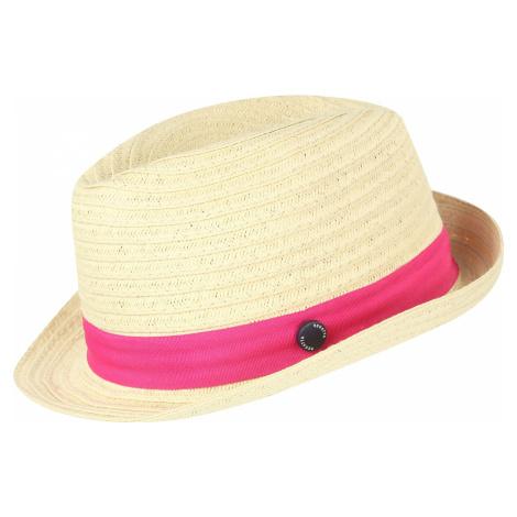 Dětský klobouk Regatta TAKIYAH béžová/růžová