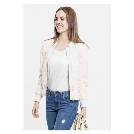 Ladies Light Bomber Jacket - light pink Urban Classics