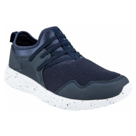 ALPINE PRO ALFIA tmavě modrá - Juniorská sportovní obuv