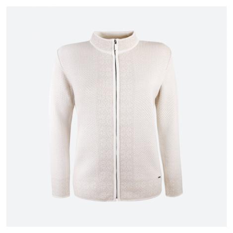 Kama Dámský Merino svetr 5028 Přírodně Bílá