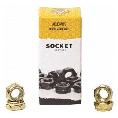AXLE NUTS SOCKET - žlutá