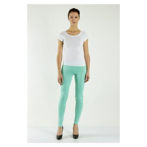 Legíny Lumide Exclusive Wear s kapsami a poutky barva mátová světle zelená