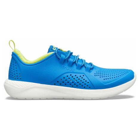 Crocs LiteRide Pacer K Bright Cobalt/Citrus J4
