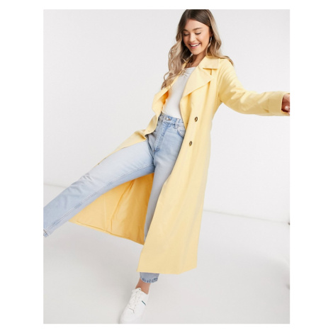 Y.A.S trench coat in yellow-Orange