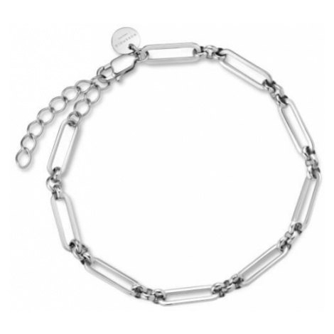 Rosefield náramek TOC Bracelet Chunky chain link Silver