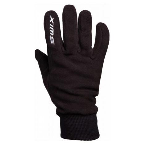 Swix ORION FLEECE M černá - Teplé zimní rukavice