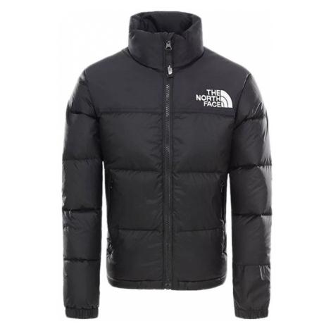 The North Face Retro Nuptse Jacket Kids černé NF0A3NOJJK3