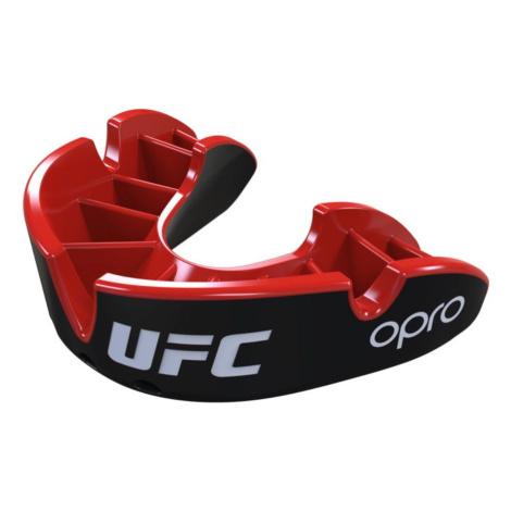 Chránič zubů OPRO Silver UFC senior - černý