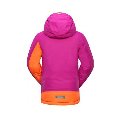 Dětská bunda Alpine Pro BAUDOINO - růžová