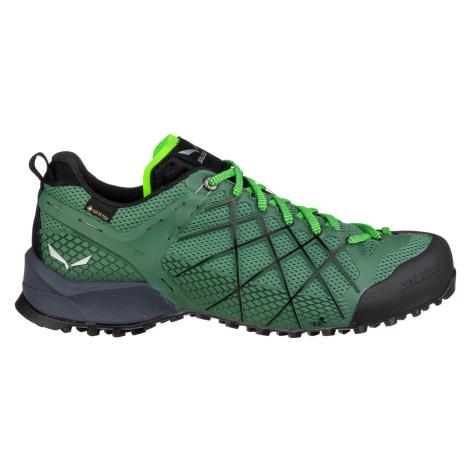 Salewa WILDFIRE GTX, Myrtle/Fluo Green Pánské boty