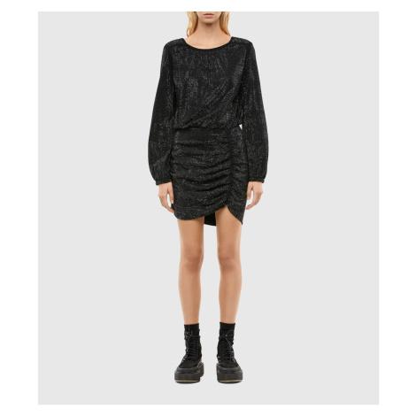 Šaty Diesel D-Renee-Bling-V2 Dress - Černá