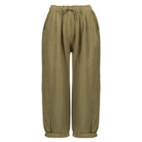 Kalhoty Deha HYPE zelená