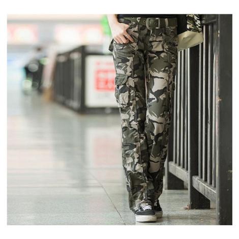 Dámské maskáčové kalhoty A230 FashionEU
