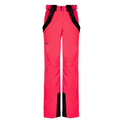 Kilpi Dámské lyžařské kalhoty Elare růžová