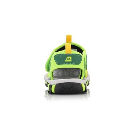 Dětská letní obuv Alpine Pro JORDAN - reflexní žlutá