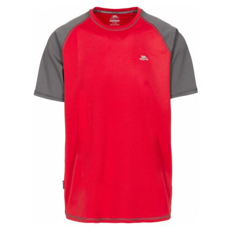 Trespass FIREBRAT Pánské běžecké tričko MATOTSO10015-RED RED