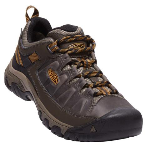 KEEN TARGHEE III WP M Pánská obuv KEN1203146102 black olive/golden brown