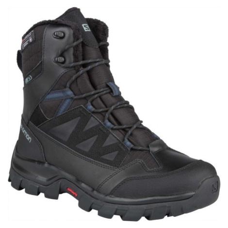 Salomon CHALTEN TS CSWP černá - Pánská zimní obuv
