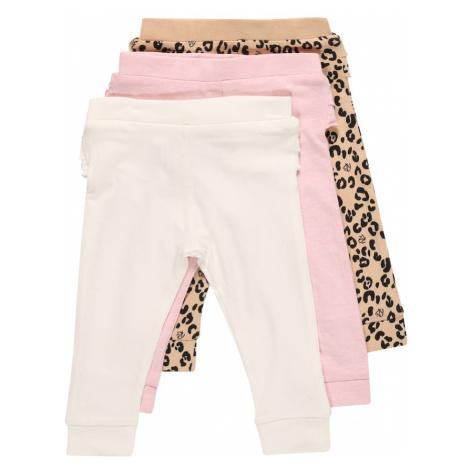 River Island Legíny pink / bílá / béžová / černá