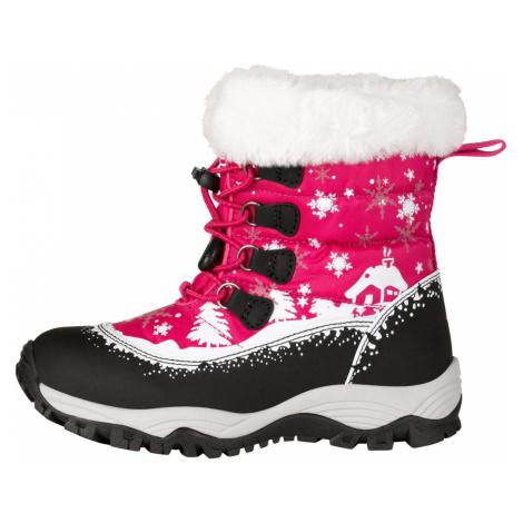 ALPINE PRO SALEWIKO Dětská zimní obuv KBTP204450 virtual pink