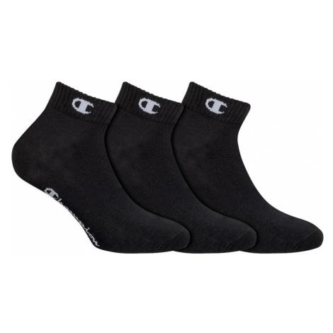 Ponožky Unisex Champion 8QH 3PACK černá | černa