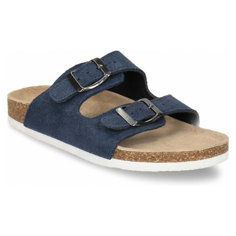 Dětské modré pantofle De Fonseca