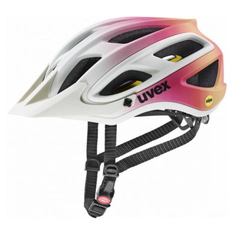 Cyklistická helma Uvex Unbound MIPS papyrus-peach mat