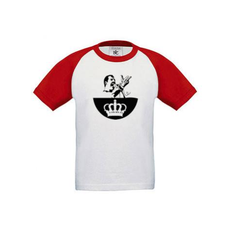 Dětské tričko baseball Freddie Mercury - Queen