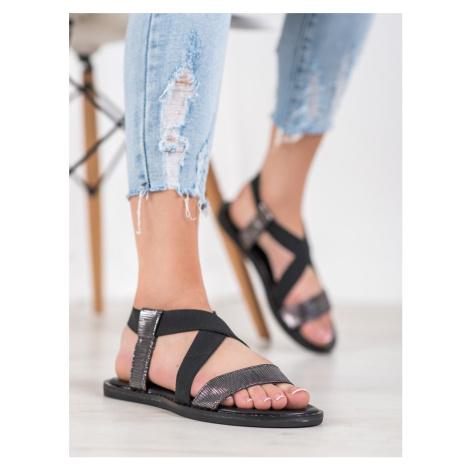 Originální dámské   sandály bez podpatku GOODIN