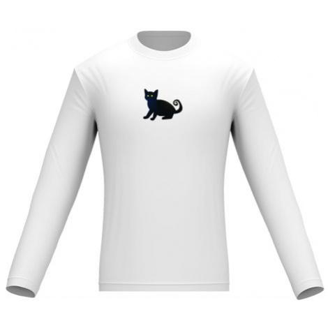 Pánské tričko dlouhý rukáv Halloween cat