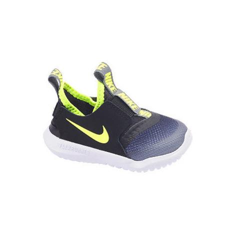 Černo-modré dětské slip-on tenisky Nike Flex Runner