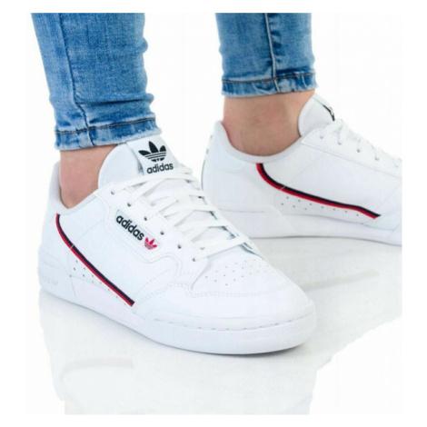 Detské tenisky Adidas Continental 80 Junior White