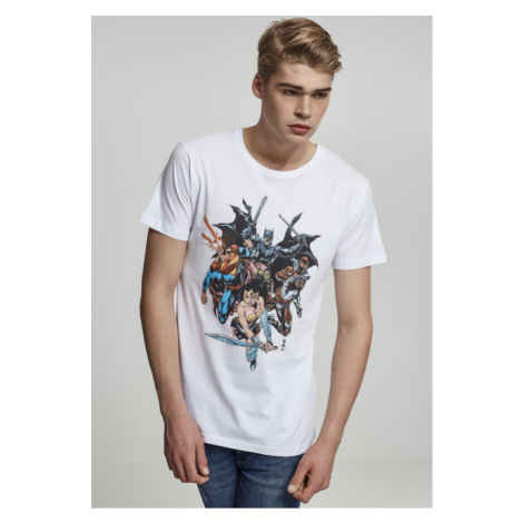 Mr. Tee Justice League Crew Tee white