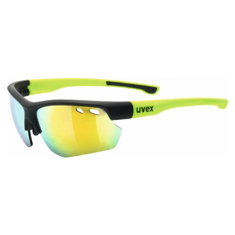 uvex sportstyle 115 Matte Black / Yellow S3