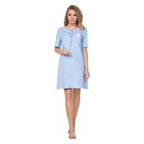 Dámská noční košile Regina 387 modrá | světle modrá