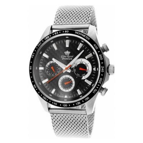 Pánské hodinky Gino Rossi PREMIUM Nerezová ocel S523B-1C1